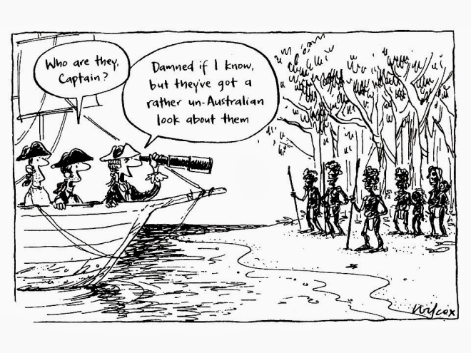 australia day cartoon 1